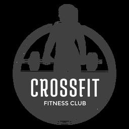 Logotipo do clube de fitness Crossfit