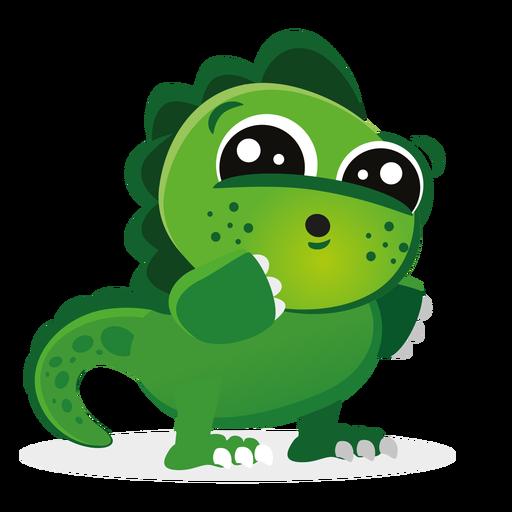 Dibujos animados de personaje de bebé lindo Dino Transparent PNG
