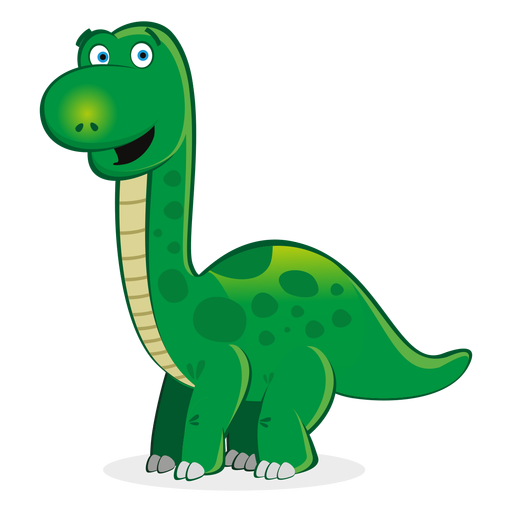 Dibujos animados lindo personaje de dinosaurio Transparent PNG