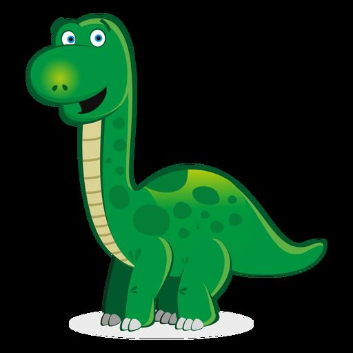 Niedlicher Dino-Charakter-Cartoon