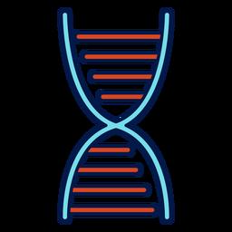 Icono de la escuela de la cadena de ADN