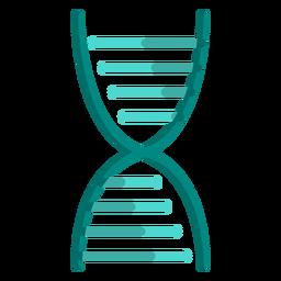 Ilustração de escola de cadeia de DNA