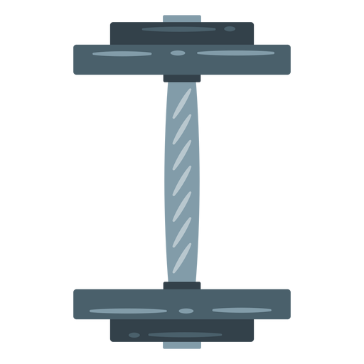 Dumbbell top view icon Transparent PNG