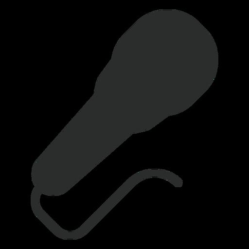 Ícone plano de microfone dinâmico Transparent PNG