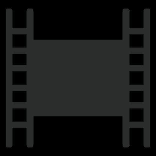 Ícone plano de fita de filme Transparent PNG
