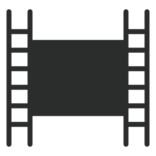 Film tape flat icon Transparent PNG