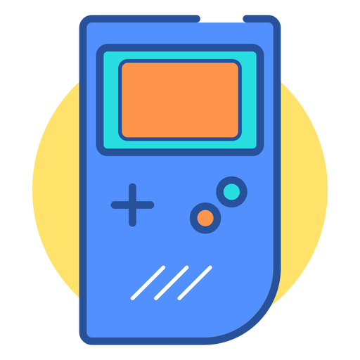 Game boy console icon Transparent PNG