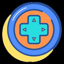 Icono de las teclas de flecha del gamepad