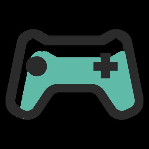 Ícone de traço colorido do gamepad