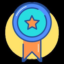 Icono de cinta de premio de juegos