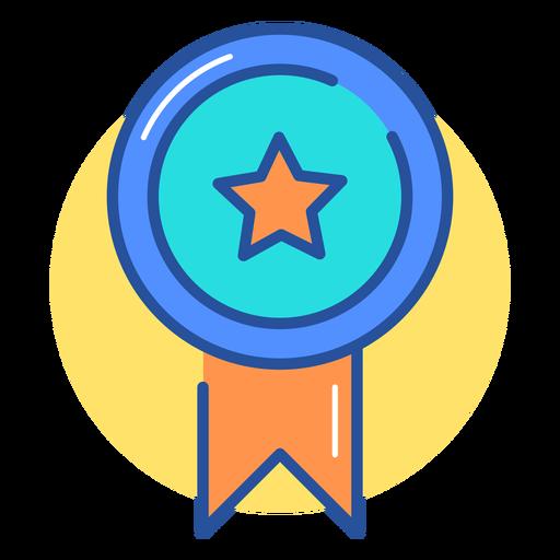 Gaming award ribbon icon Transparent PNG