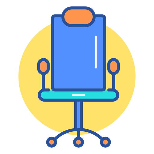 Gaming chair icon Transparent PNG
