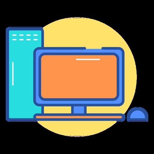 Icono de computadora de juegos