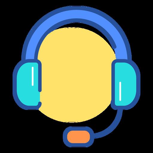 Ícone de fone de ouvido de jogos Transparent PNG