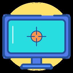 Icono de monitor de juegos