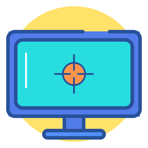 Ícone do monitor de jogos