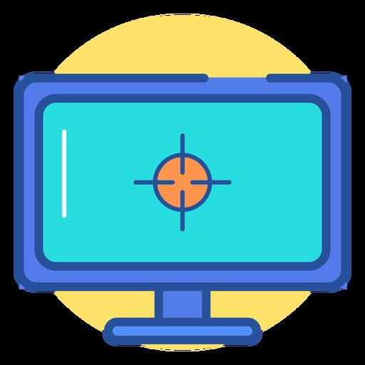 Icono de monitor de juego Transparent PNG