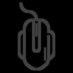 Icono de trazo del mouse para juegos