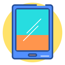 Ícone de tablet de jogos