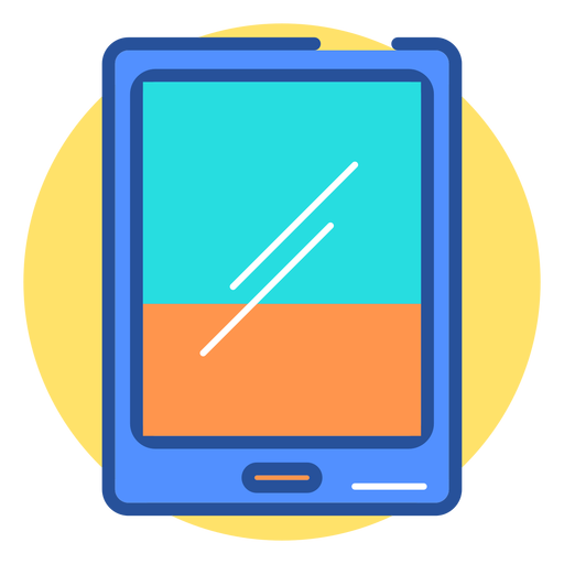 Gaming tablet icon - T...