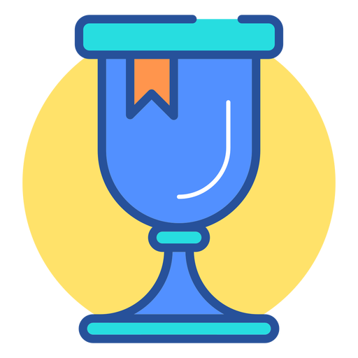 Gaming trophy icon Transparent PNG