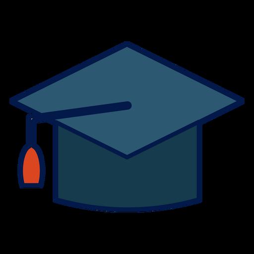 Icono de la escuela de sombrero de graduación Transparent PNG