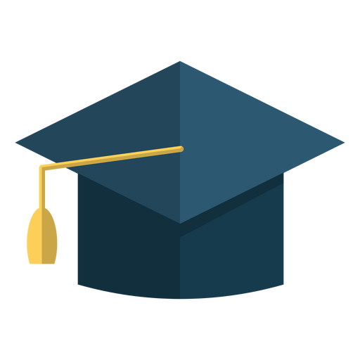 Ilustração de escola de chapéu de formatura Transparent PNG