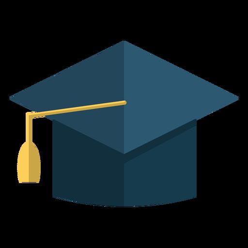 Ilustración de la escuela de sombrero de graduación Transparent PNG
