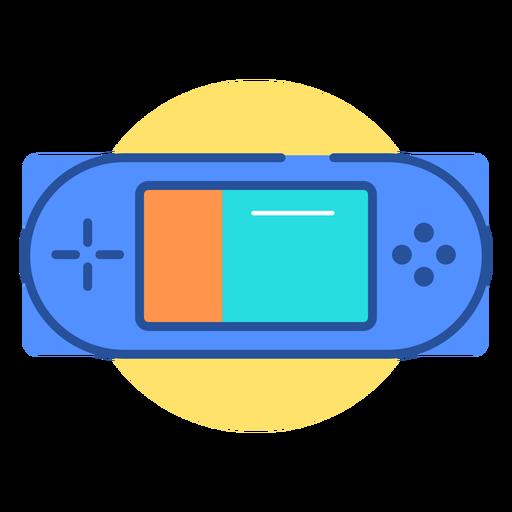 Ícone do console de jogo portátil