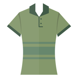 Henley polo t shirt icon