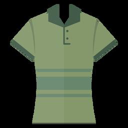 Icono de camiseta polo henley