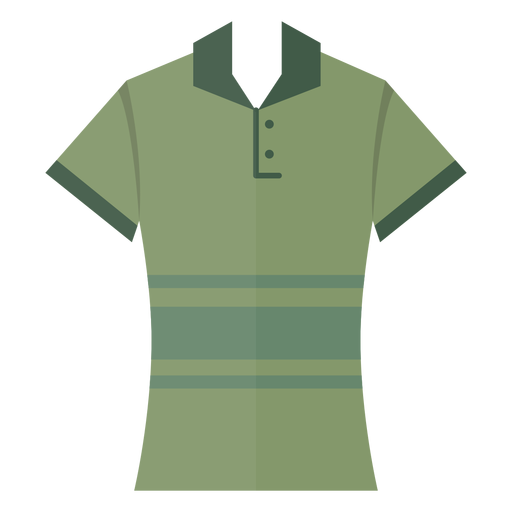 Henley polo t shirt icon Transparent PNG