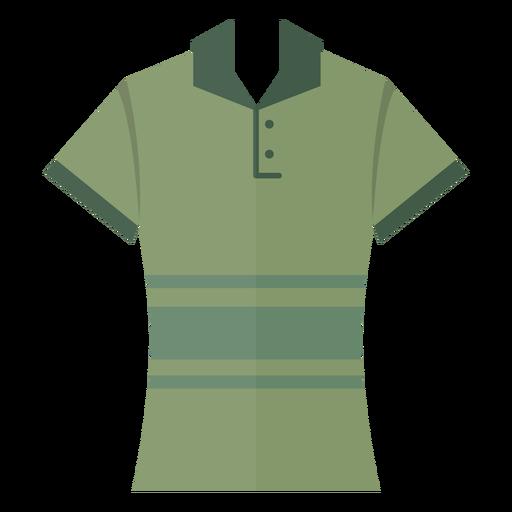 Henley polo t shirt icon