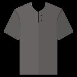 Henley camiseta ícone