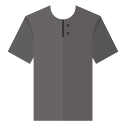 Henley t shirt icon