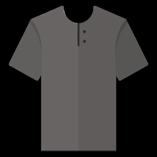 Henley t shirt icon
