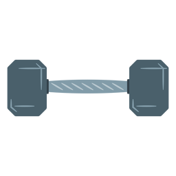 Ícone de halteres hexadecimais