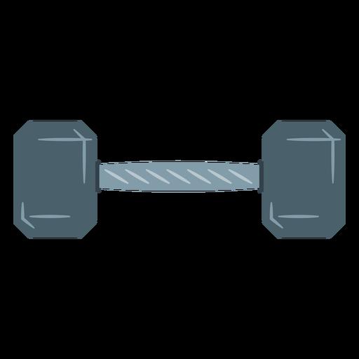 Ícone de halteres hexadecimais Transparent PNG