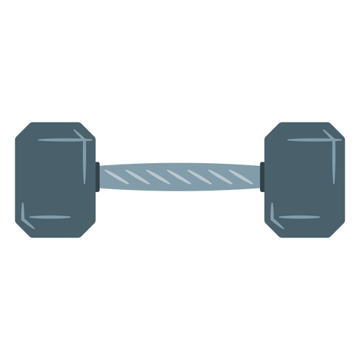 Hex dumbbell icon Transparent PNG