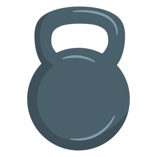Kettlebell weight icon Transparent PNG
