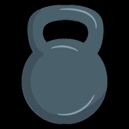 Kettlebell weight icon