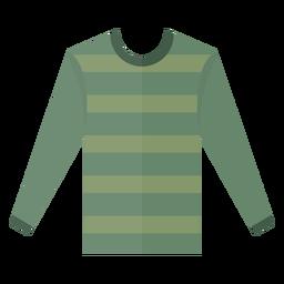 Icono de camiseta de manga larga