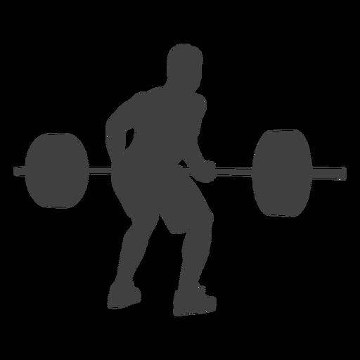 Homem, curvado, sobre, fila, silueta Transparent PNG