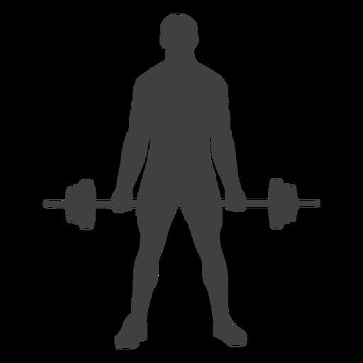 Homem, segurando, barbo, silueta Transparent PNG