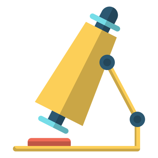 Microscope school illustration Transparent PNG