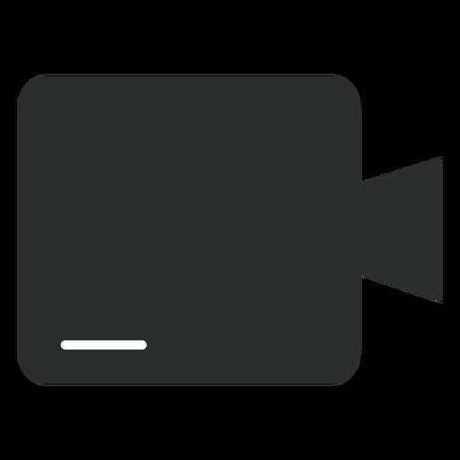 Ícone plana de câmera multimídia Transparent PNG