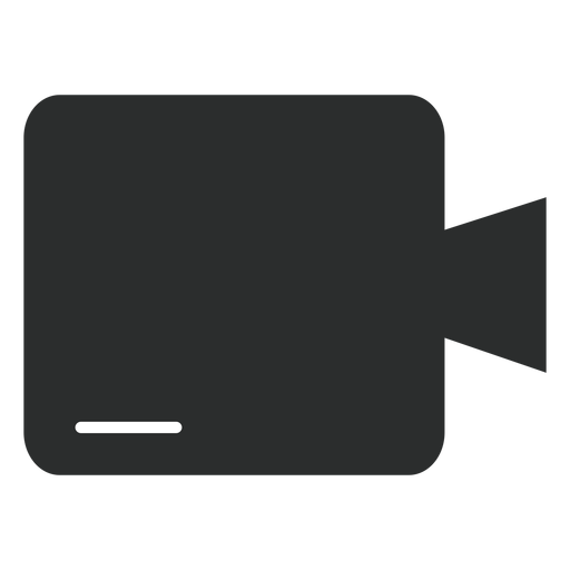 Multimedia camera flat icon Transparent PNG