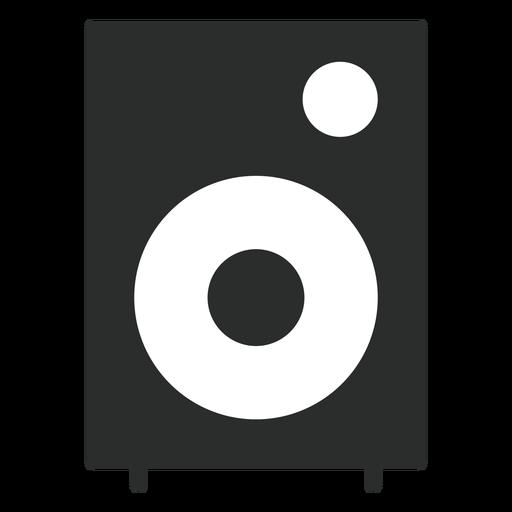 Multimedia speaker flat icon Transparent PNG