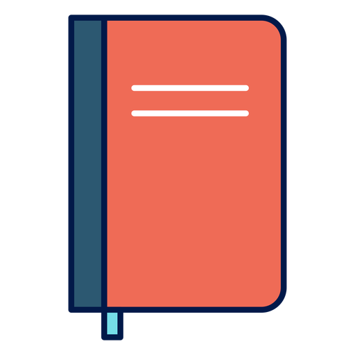 Notebook school icon Transparent PNG