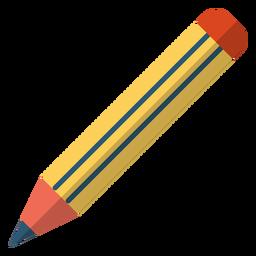 Ilustração de escola de lápis
